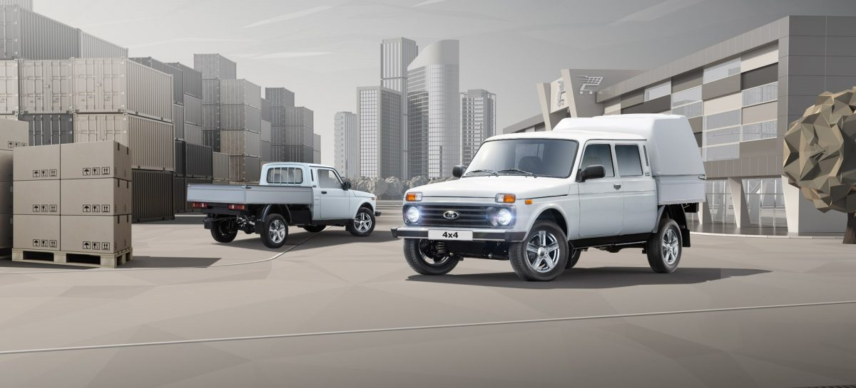 Старт продаж обновленных бортовых платформ и фургонов на базе Lada 4×4