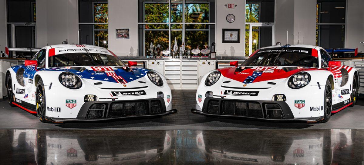 Два 911 RSR заводской команды Porsche выступят в Себринге в особой раскраске