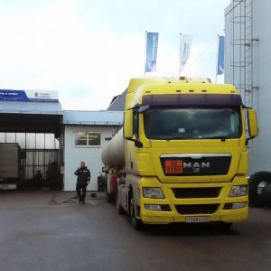 Открытие нового грузового шинного центра формата «Флагман» в рамках партнерской программы Мишлен