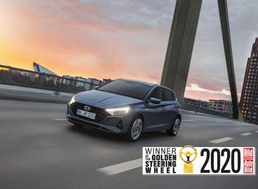 Новый Hyundai i20 получил награду «Золотой руль»
