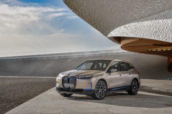 BMW представляет дизайн BMW iX – своего нового технологического флагмана