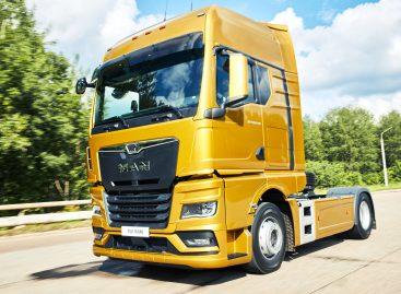 Первый грузовой автомобиль в России нового поколения MAN TGX получил награду в номинации «Перспектива года»