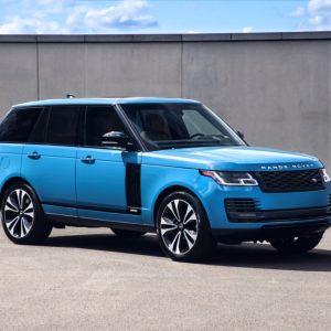 Jaguar Land Rover объявляет о старте продаж юбилейной версии Range Rover Fifty