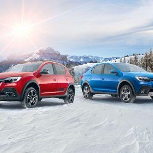 Renault представляет обновленные Logan и Sandero