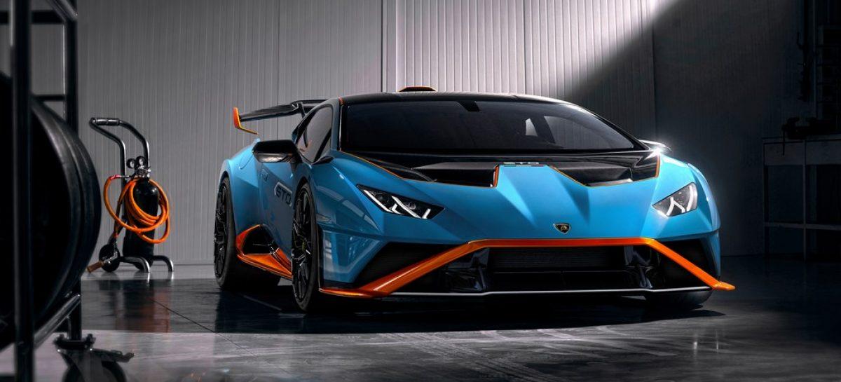 Вдохновлен гоночным треком, омологирован для городских дорог: новый Lamborghini Huracán STO