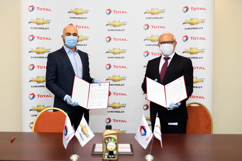 Total Vostok и Chevrolet