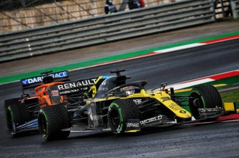 Renault DP World F1 Team на Гран-при Турции
