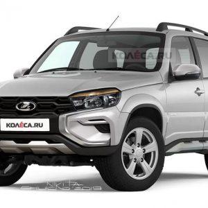 АвтоВАЗ представит обновленную Lada Niva в январе