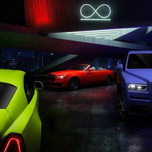 """Rolls-Royce озаряет линейку Black Badge огнями """"неоновых ночей"""""""