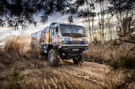 Команда «КАМАЗ-мастер» отправила машины на ралли «Дакар-2021»