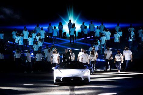 Maserati получает награды Best Event Awards 2020