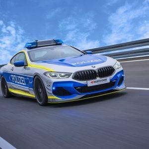 Шины Ventus S1 evo 3 от Hankook на новом BMW 850i xDrive Coupé, автомобиле-участнике кампании TUNE IT! SAFE! 2021 года