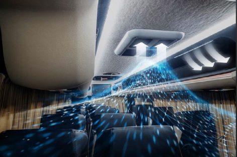 Новая опция для микроавтобусов Sprinter: антибактериальная очистка воздуха