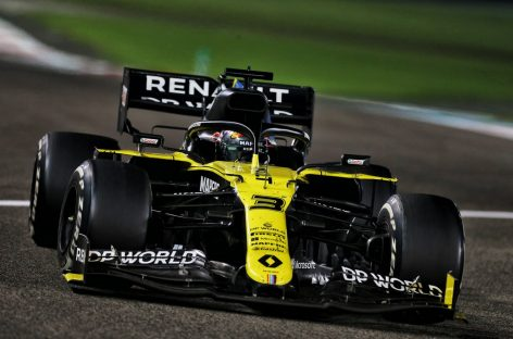 Renault DP World F1 Team на заключительном Гран-при сезона