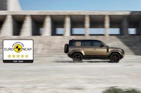 Новый Defender 110 получил пять звезд Euro NCAP и новый KIA Sorento получил высший рейтинг безопасности Euro NCAP