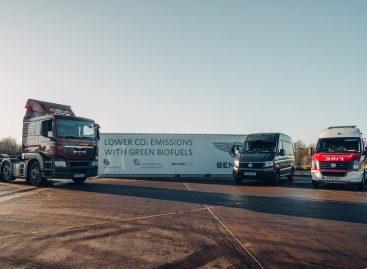 Bentley переходит на возобновляемое топливо для повышения экологичности завода в Крю