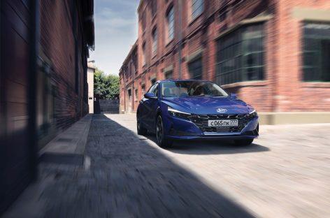 Хендэ Мотор СНГ объявляет цены на новый седан Hyundai Elantra седьмого поколения