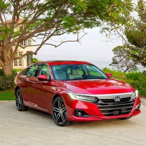 Honda Accord получил высший рейтинг безопасности IIHS TOP SAFETY PICK +