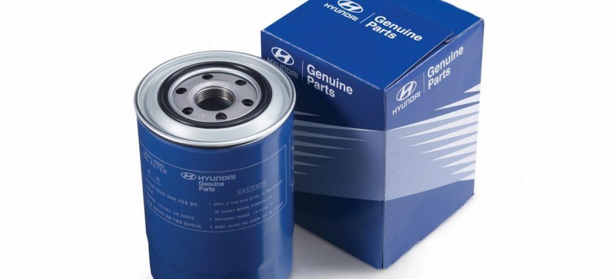 Hyundai представляет систему маркировки оригинальных запасных частей
