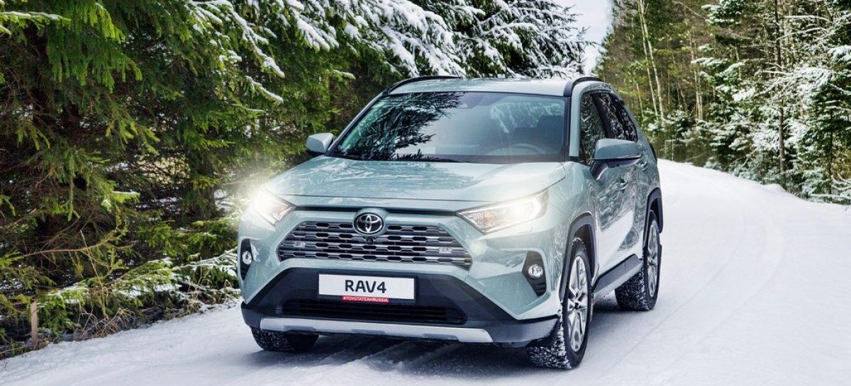 Автомобиль мечты теперь еще доступнее: Toyota RAV4 можно приобрести в кредит с низким ежемесячным платежом и гарантией обратного выкупа
