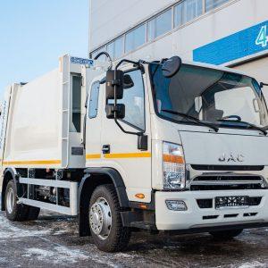 JAC N120 дебютировал в сегменте топовых мусоровозов