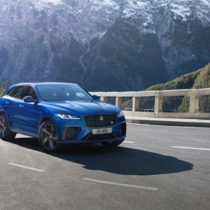 Обновленный Jaguar F-PACE SVR 21 модельного года: еще быстрее, изысканнее и роскошнее
