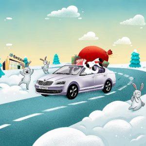 Škoda предлагает двойную выгоду по программе «Škoda Бонус» в декабре