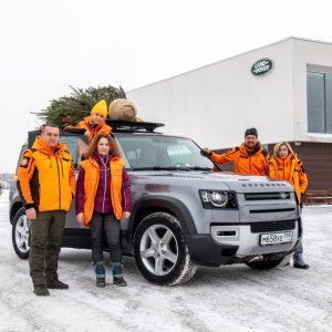 Jaguar Land Rover совместно с отрядом «ЛизаАлерт» проводят акцию «Эстафета добра»