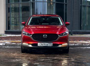 Mazda объявляет цены на все комплектации нового CX-30