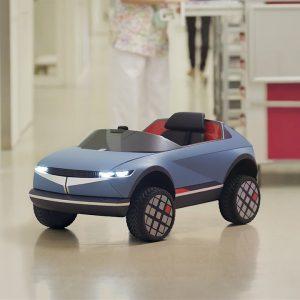 Мини-электромобиль «45» от Hyundai – эмоции на пользу детям