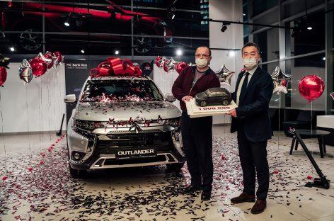 Миллионный автомобиль Mitsubishi был продан в России