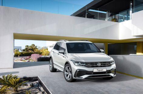 Volkswagen объявляет цены на новый Tiguan