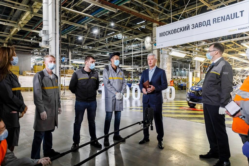 Renault московский завод