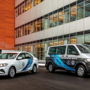 Volkswagen Polo и Caravelle для «Детского хосписа»