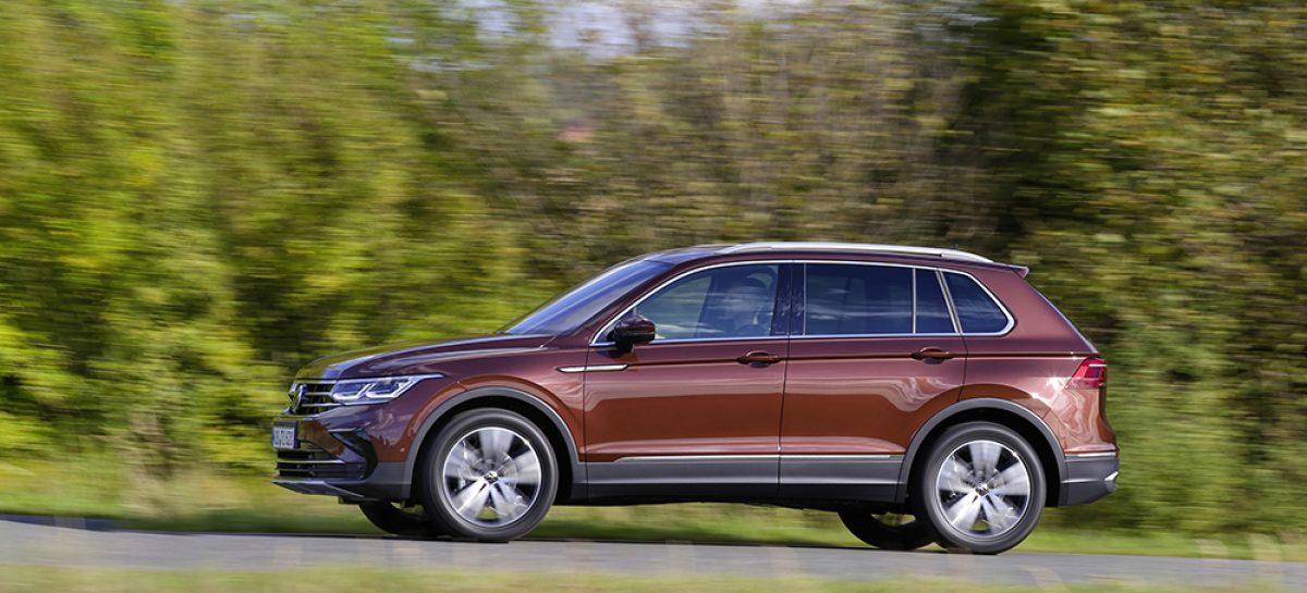 Volkswagen представляет специальные версии нового Tiguan