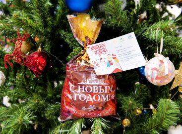 Завод компании Hyundai поздравил школьников Сестрорецка с Новым годом