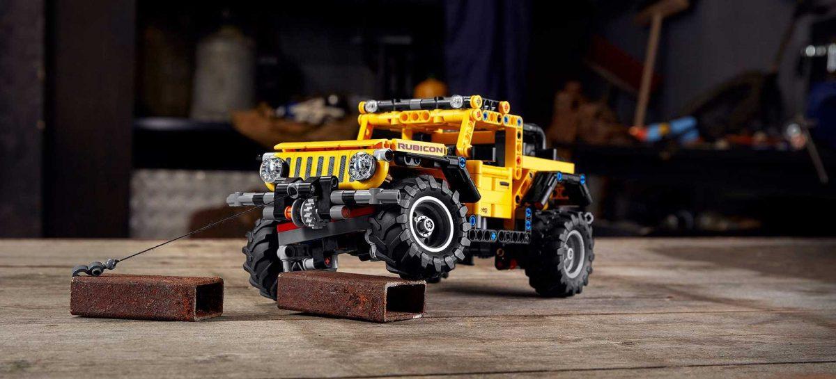 Новый Jeep Wrangler теперь в серии LEGO Technic