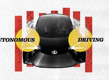 Lexus и TED представили новое видение автомобиля будущего