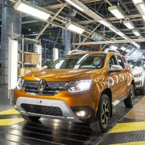 Производство нового Renault Duster стартовало на заводе в Москве