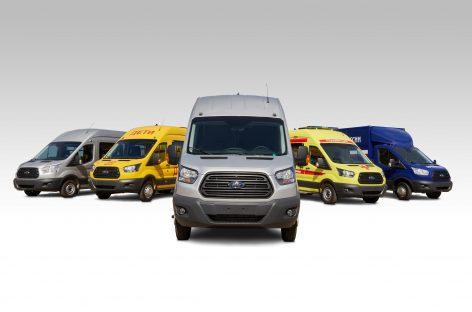 Продажи Ford Transit завершили 2020 год рекордными показателями и ростом на 12%