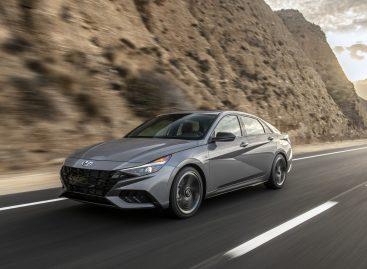 Hyundai Elantra – победитель премии «Автомобиль 2021 года в Северной Америке»