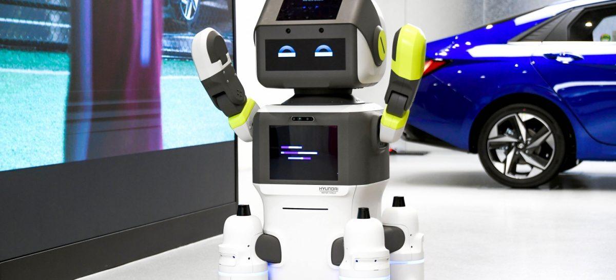 Hyundai представляет робота DAL-e для обслуживания клиентов