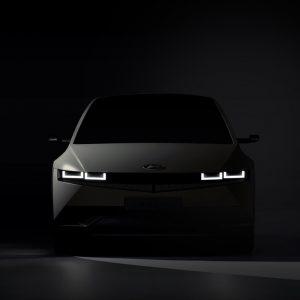 Hyundai представляет первое изображение IONIQ 5