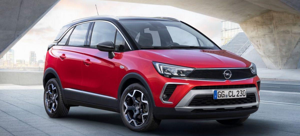 Новый Opel Crossland открывает новый сегмент для бренда на российском рынке