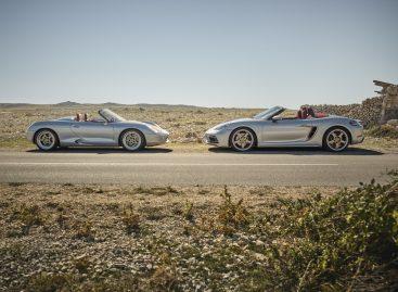 Porsche выпускает новую лимитированную юбилейную модель: Boxster 25 лет