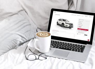 Теперь при покупке автомобиля онлайн можно получить и кредит совместно с Nissan Finance