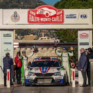 85 лет успеха: Škoda на ралли Монте-Карло