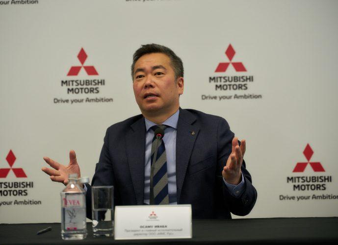 Mitsubishi Россия