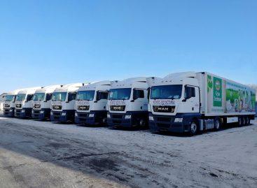 15 седельных тягачей MAN были приобретены крупнейшим транспортным оператором Удмуртской Республики для осуществления поставок продуктов питания