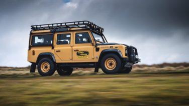 Land Rover Classic выпустит ограниченную серию  внедорожника Defender Works V8 Trophy